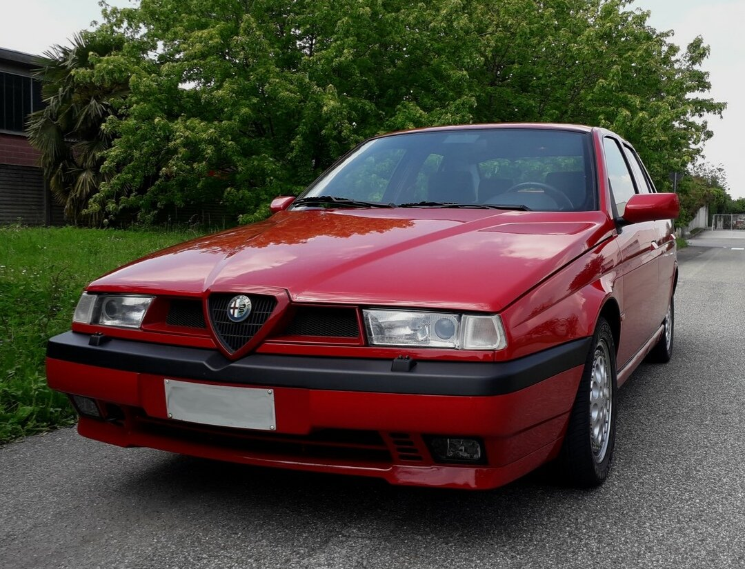 1994 One of the 2700 alfa 155 q4 ,full history. For Sale (picture 1 of 6)