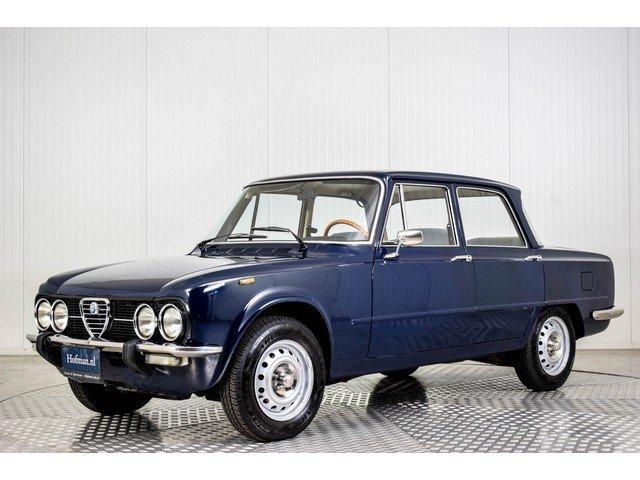 1974 Alfa Romeo Giulia Super Nuova 1300 For Sale (picture 1 of 6)