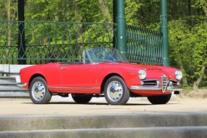 1962 Alfa Romeo Giulia Spider 1600 For Sale by Auction