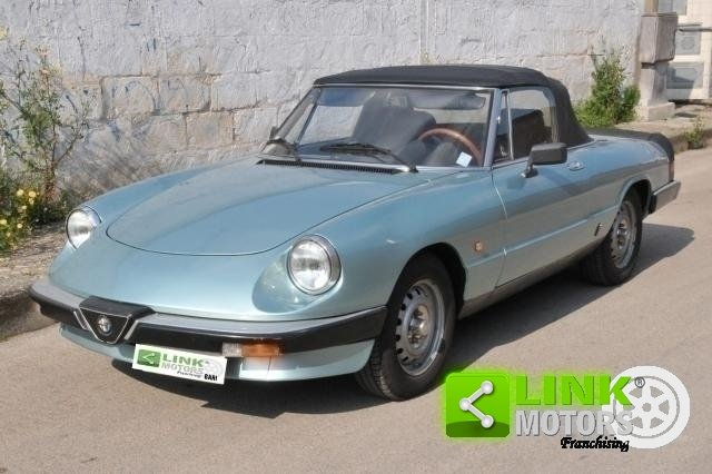1984 ALFA ROMEO SPIDER 1.6 DUETTO - ISCRITTA ASI For Sale (picture 1 of 6)