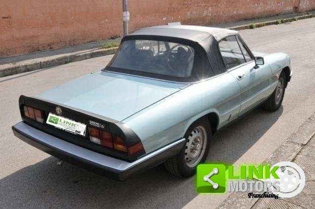 1984 ALFA ROMEO SPIDER 1.6 DUETTO - ISCRITTA ASI For Sale (picture 2 of 6)