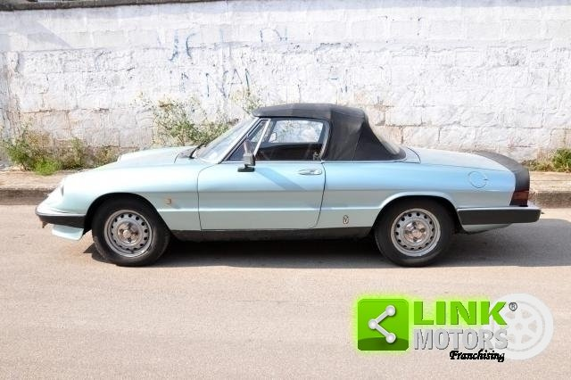 1984 ALFA ROMEO SPIDER 1.6 DUETTO - ISCRITTA ASI For Sale (picture 3 of 6)
