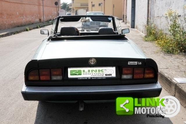 1984 ALFA ROMEO SPIDER 1.6 DUETTO - ISCRITTA ASI For Sale (picture 4 of 6)
