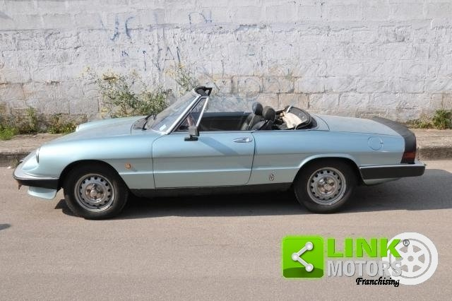 1984 ALFA ROMEO SPIDER 1.6 DUETTO - ISCRITTA ASI For Sale (picture 5 of 6)