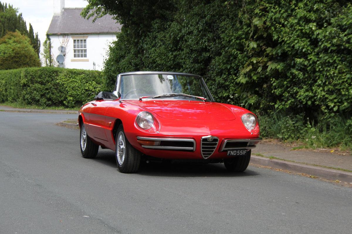 1967 Alfa Romeo Spider 1600 Duetto - Pristine Condition SOLD (picture 1 of 12)