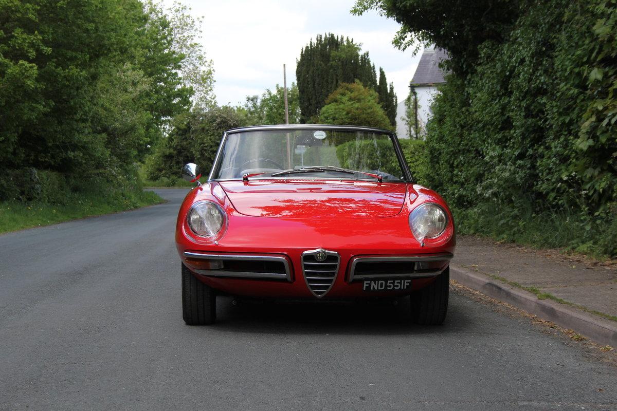 1967 Alfa Romeo Spider 1600 Duetto - Pristine Condition SOLD (picture 2 of 12)