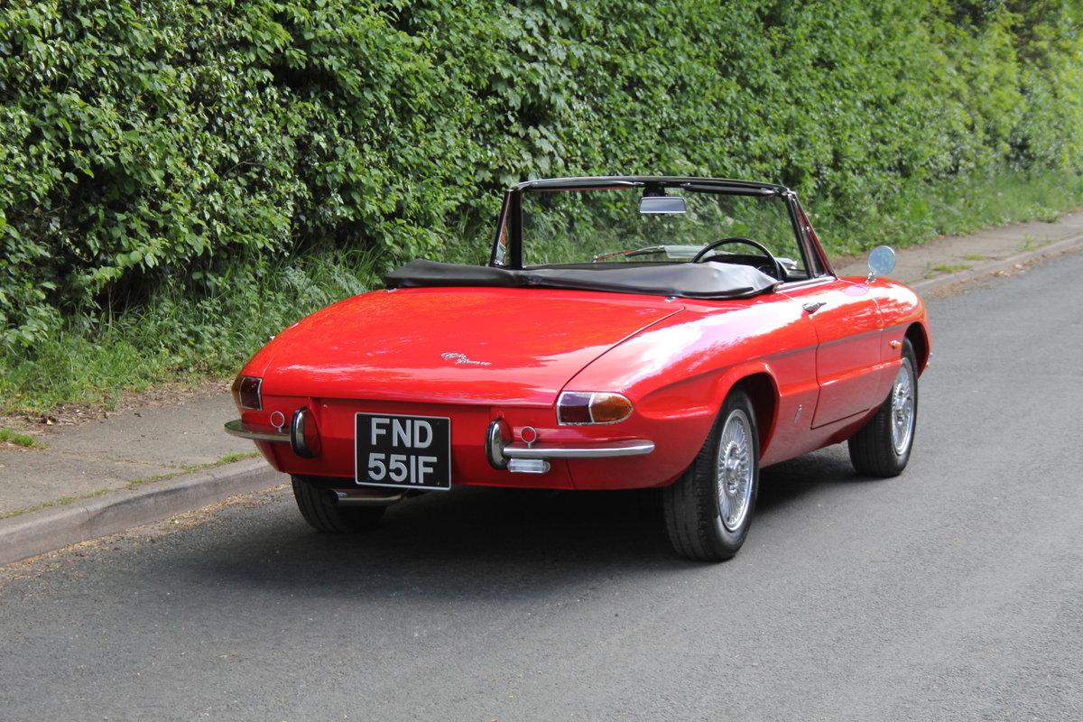 1967 Alfa Romeo Spider 1600 Duetto - Pristine Condition SOLD (picture 5 of 12)