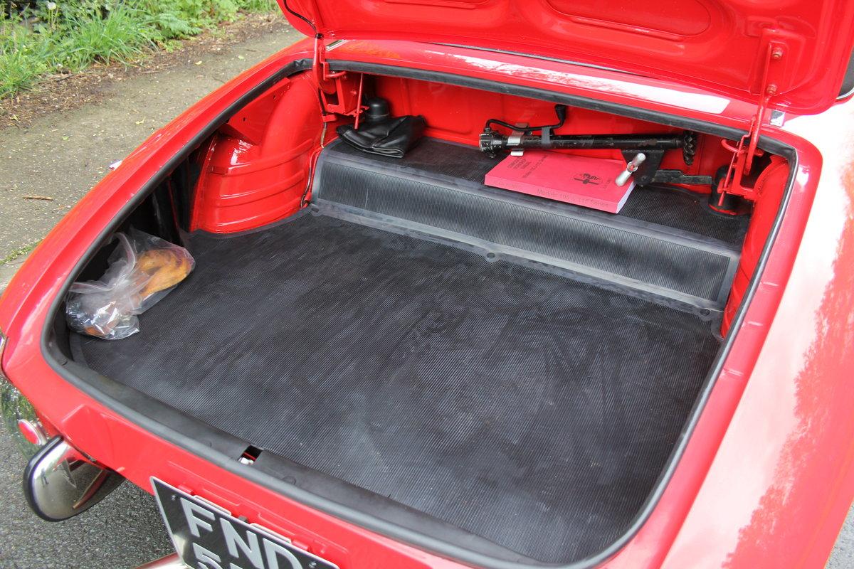1967 Alfa Romeo Spider 1600 Duetto - Pristine Condition SOLD (picture 12 of 12)
