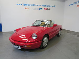 1992 Alfa Romeo Spider 2.0 LHD For Sale