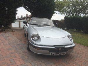 1986 Alfa Romeo Spider 2.0 Quadrifoglio Verde For Sale