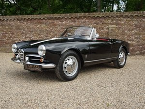 1959 Alfa Romeo Giulietta 1300 Spider 750D delivered new to NSU A