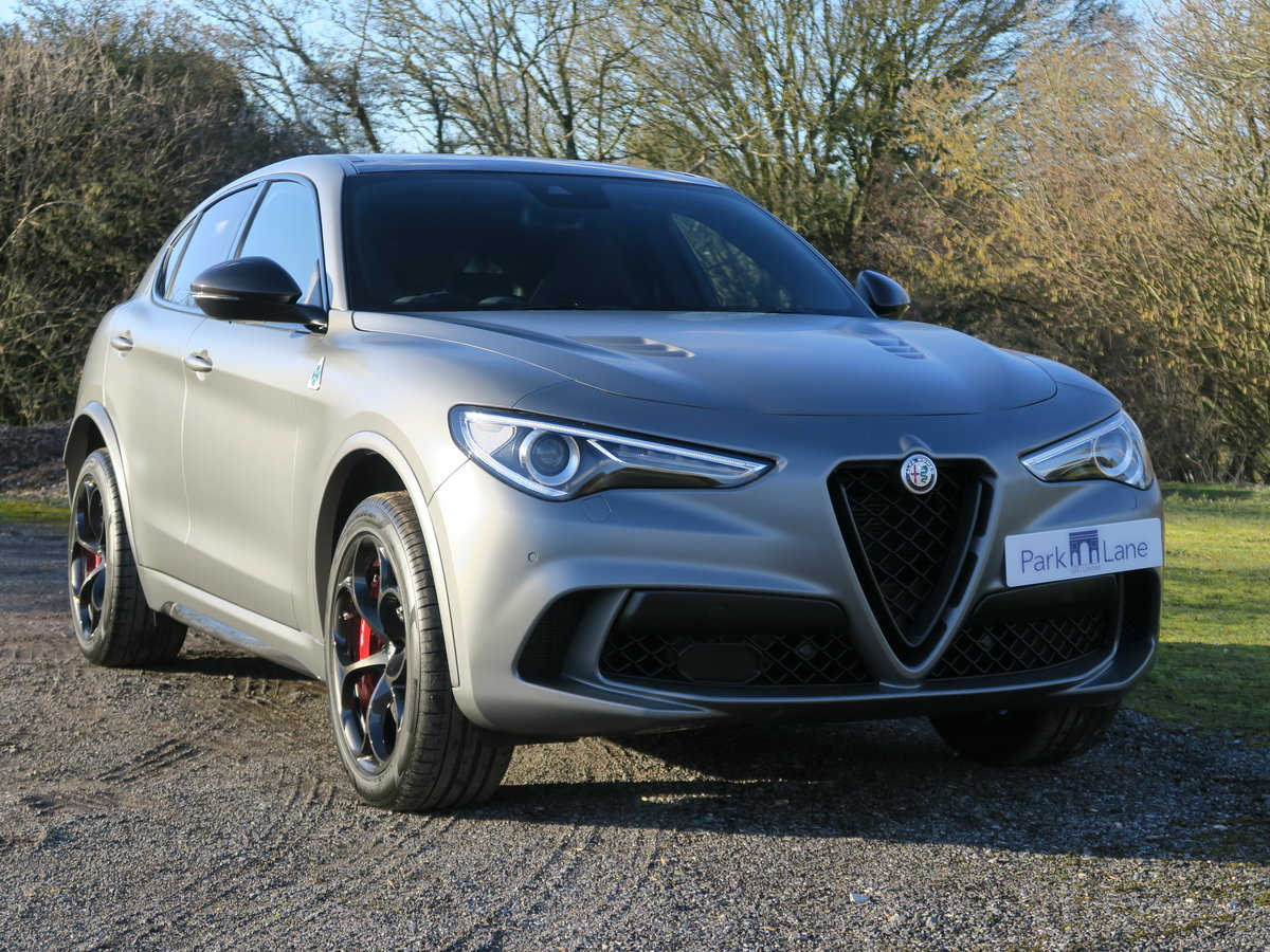 2018 Alfa Romeo Stelvio 2.9V6 510 Quadrifoglio NRING For Sale (picture 1 of 6)