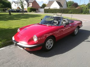 1990 FOR SALE - ALFA ROMEO 2000 SPIDER S3 For Sale