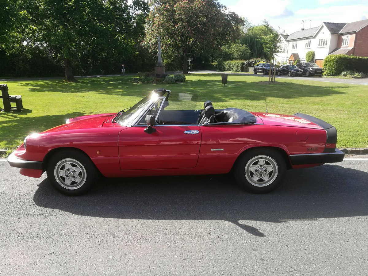 1990 FOR SALE - ALFA ROMEO 2000 SPIDER S3 For Sale (picture 2 of 6)
