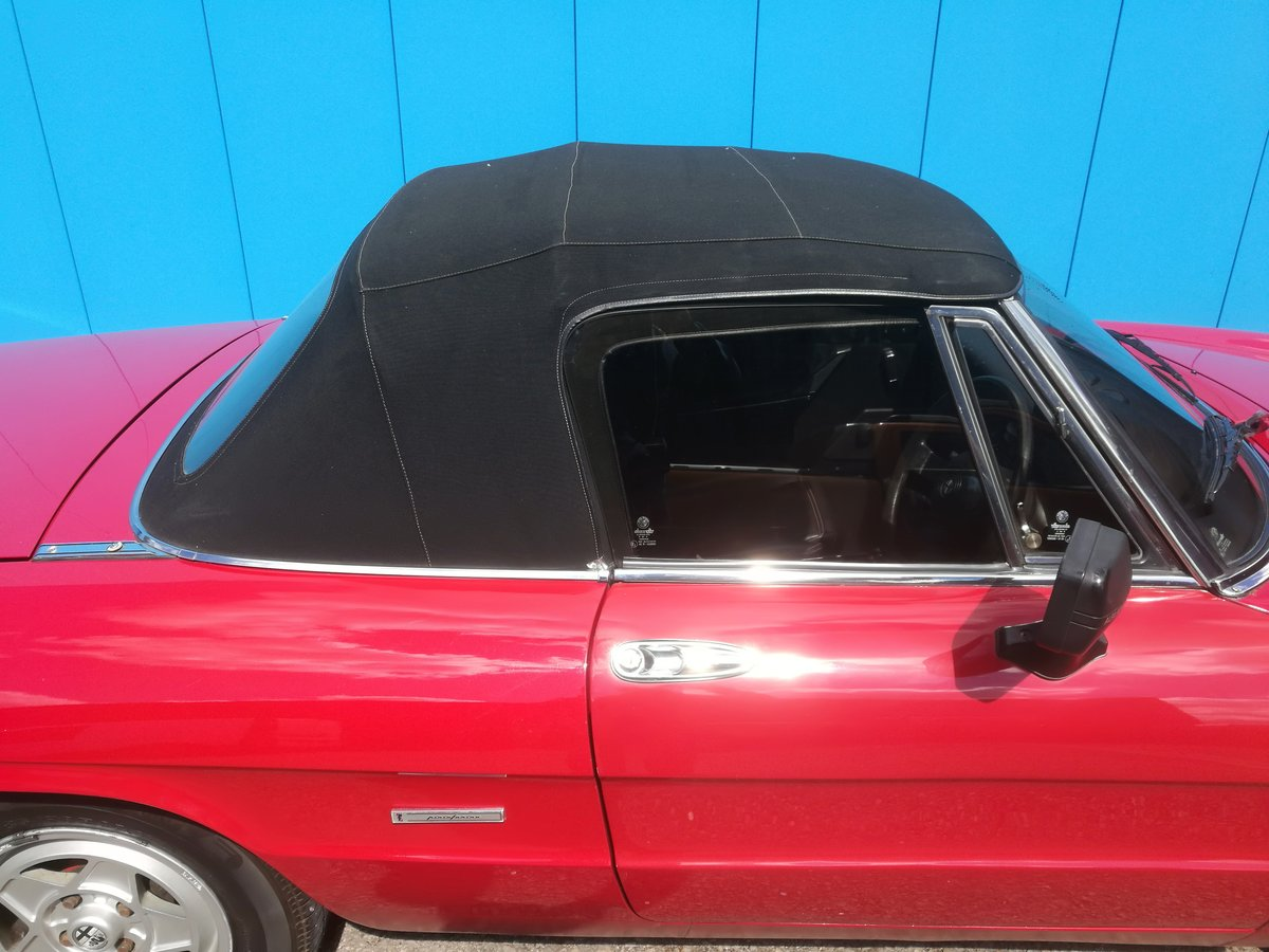 1990 FOR SALE - ALFA ROMEO 2000 SPIDER S3 For Sale (picture 5 of 6)