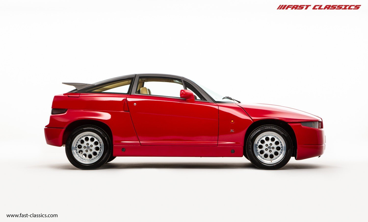 1991 ALFA ROMEO S.Z. // ZAGATO SPECIAL // ONLY 16K KM // FLAWLESS For Sale (picture 1 of 6)