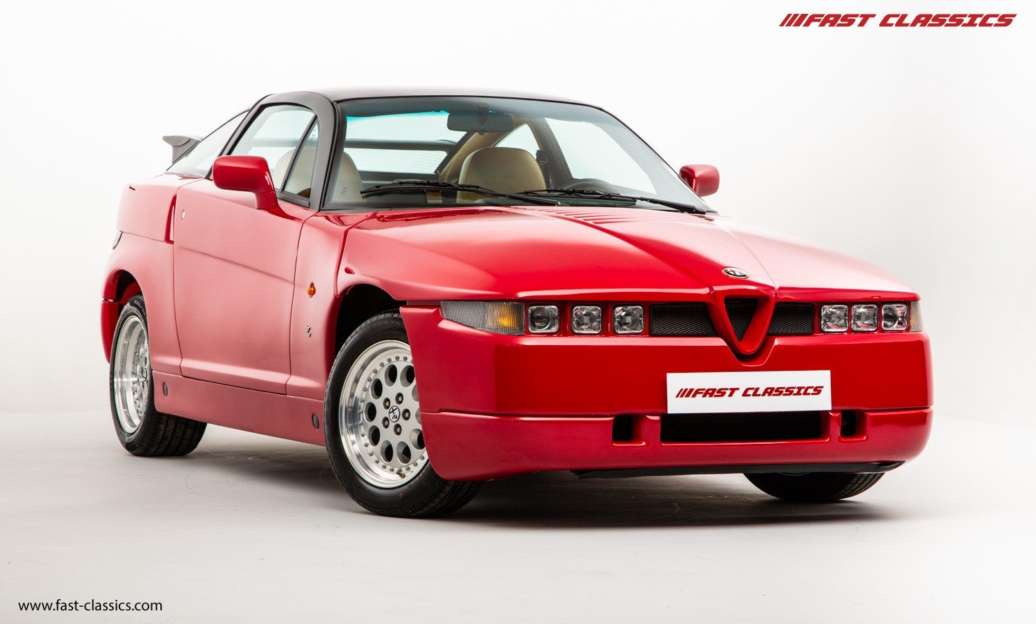 1991 ALFA ROMEO S.Z. // ZAGATO SPECIAL // ONLY 16K KM // FLAWLESS For Sale (picture 2 of 6)