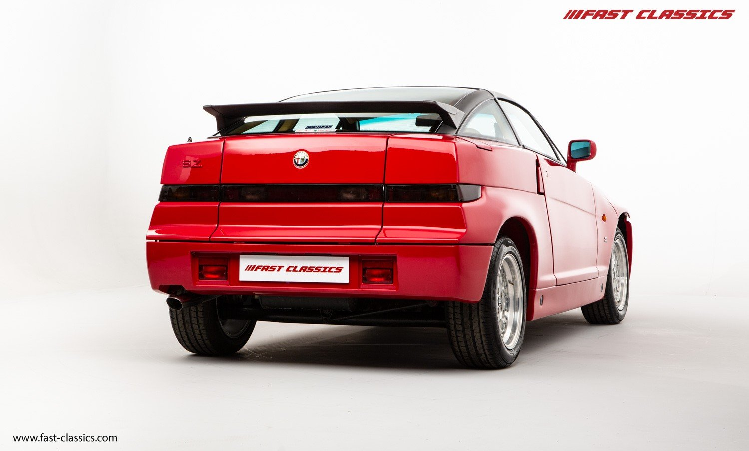 1991 ALFA ROMEO S.Z. // ZAGATO SPECIAL // ONLY 16K KM // FLAWLESS For Sale (picture 3 of 6)