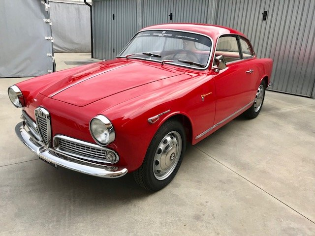 1962 Alfa Romeo Giulietta Sprint Veloce For Sale (picture 1 of 6)