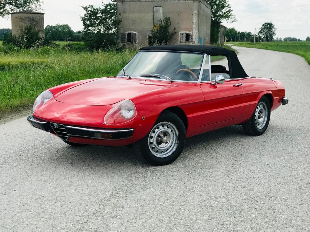 1973 Alfa Romeo Spider 1300 – 2nd SERIES - *ASI* For Sale (picture 1 of 6)