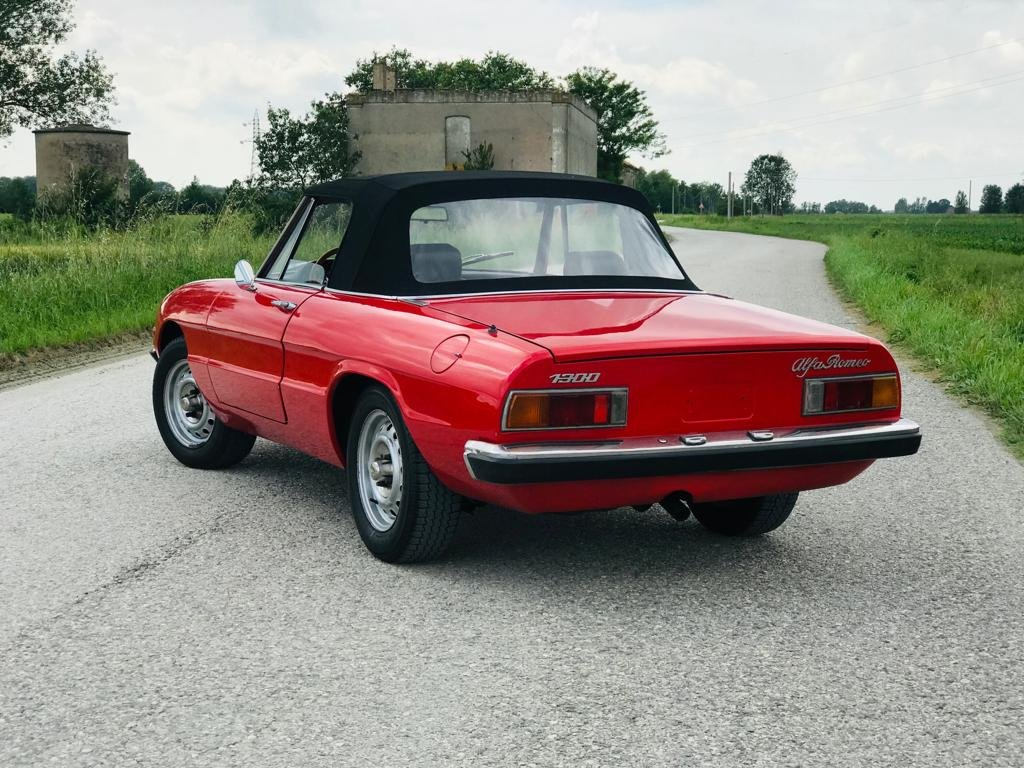 1973 Alfa Romeo Spider 1300 – 2nd SERIES - *ASI* For Sale (picture 2 of 6)
