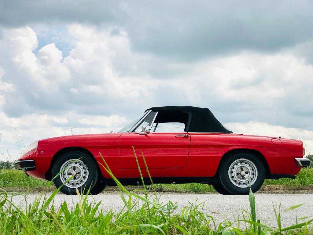 1973 Alfa Romeo Spider 1300 – 2nd SERIES - *ASI* For Sale (picture 3 of 6)