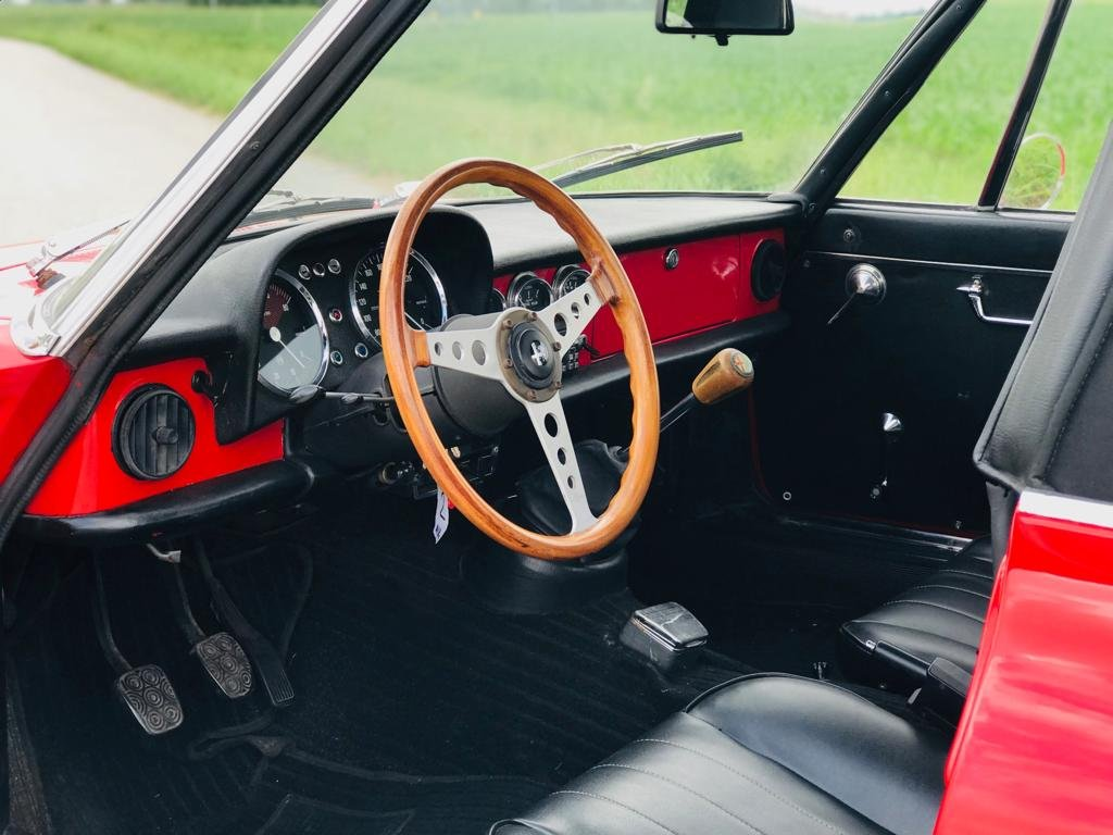 1973 Alfa Romeo Spider 1300 – 2nd SERIES - *ASI* For Sale (picture 4 of 6)