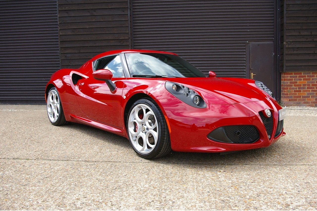 2014 Alfa Romeo 4C 1.8 TBI TCT Coupe (2,145 miles) SOLD (picture 1 of 6)