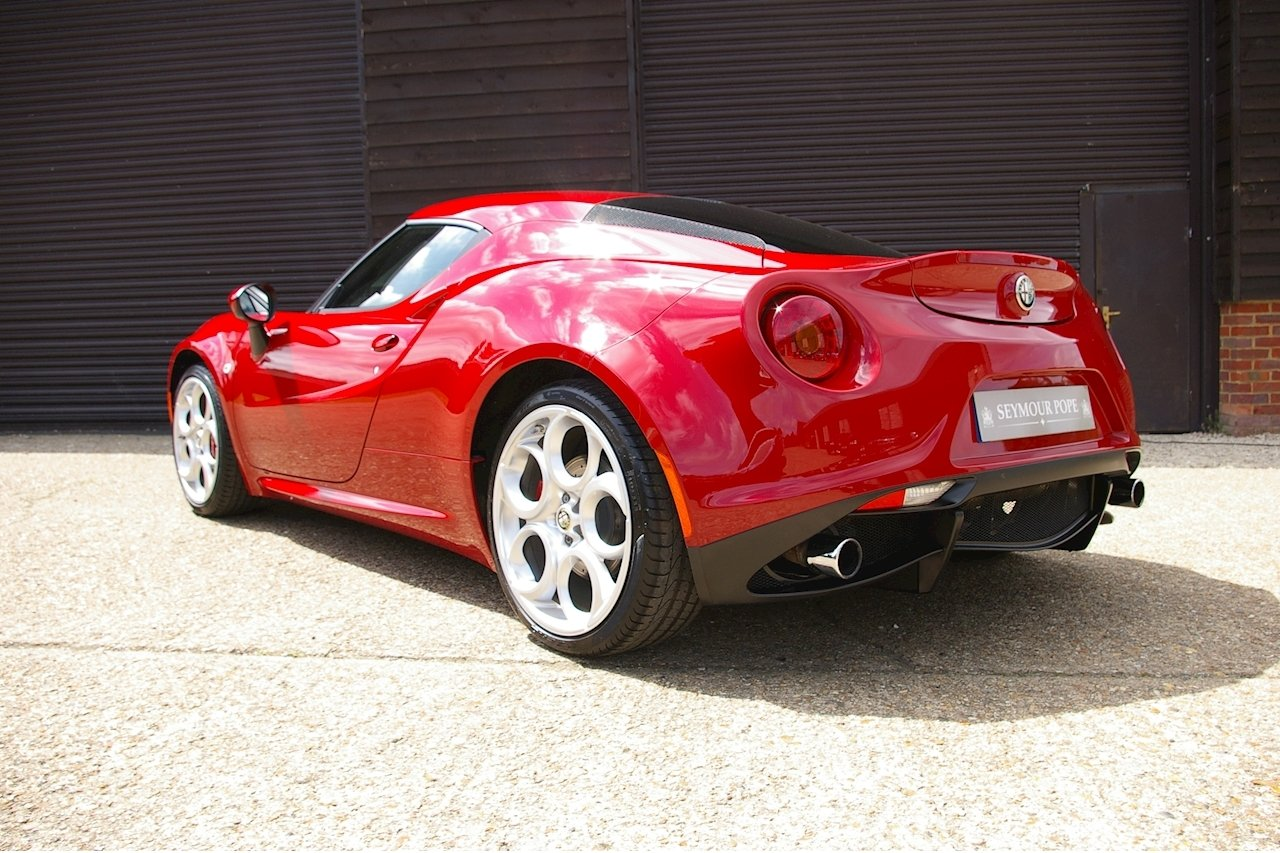 2014 Alfa Romeo 4C 1.8 TBI TCT Coupe (2,145 miles) SOLD (picture 3 of 6)