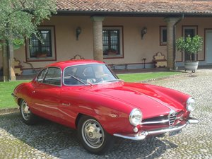 1964 Rare Alfa Romeo Giulia 1600 Sprint Speciale For Sale