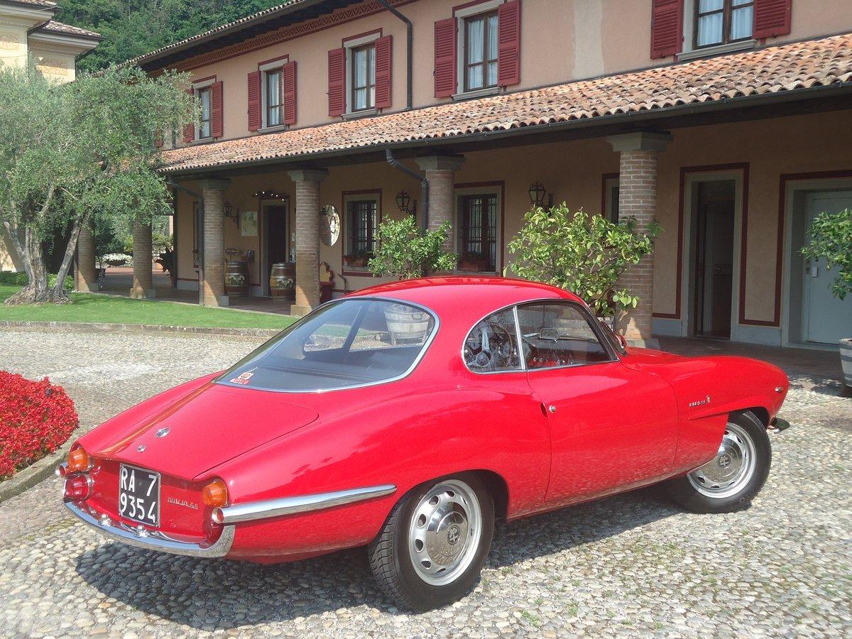 1964 Rare Alfa Romeo Giulia 1600 Sprint Speciale For Sale (picture 2 of 6)