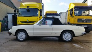 1976 Series II Alfa Romeo Spider in perfect condition For Sale