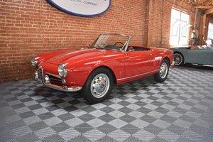 1959 Alfa Romeo Giulietta Veloce Spider = Restored Red $79.5 For Sale