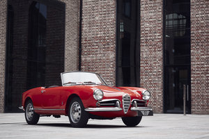 Alfa Romeo Giulietta Spider 1957 For Sale