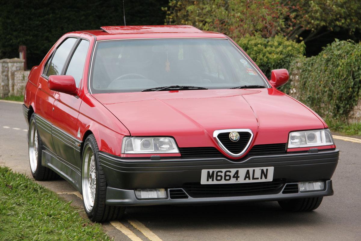 1994 Alfa Romeo 164 Cloverleaf QV 3.0 V6 24v For Sale (picture 2 of 6)