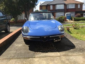 Picture of 1975 Alfa Romeo 2.0 Spider Veloce at ACA 15th June  SOLD