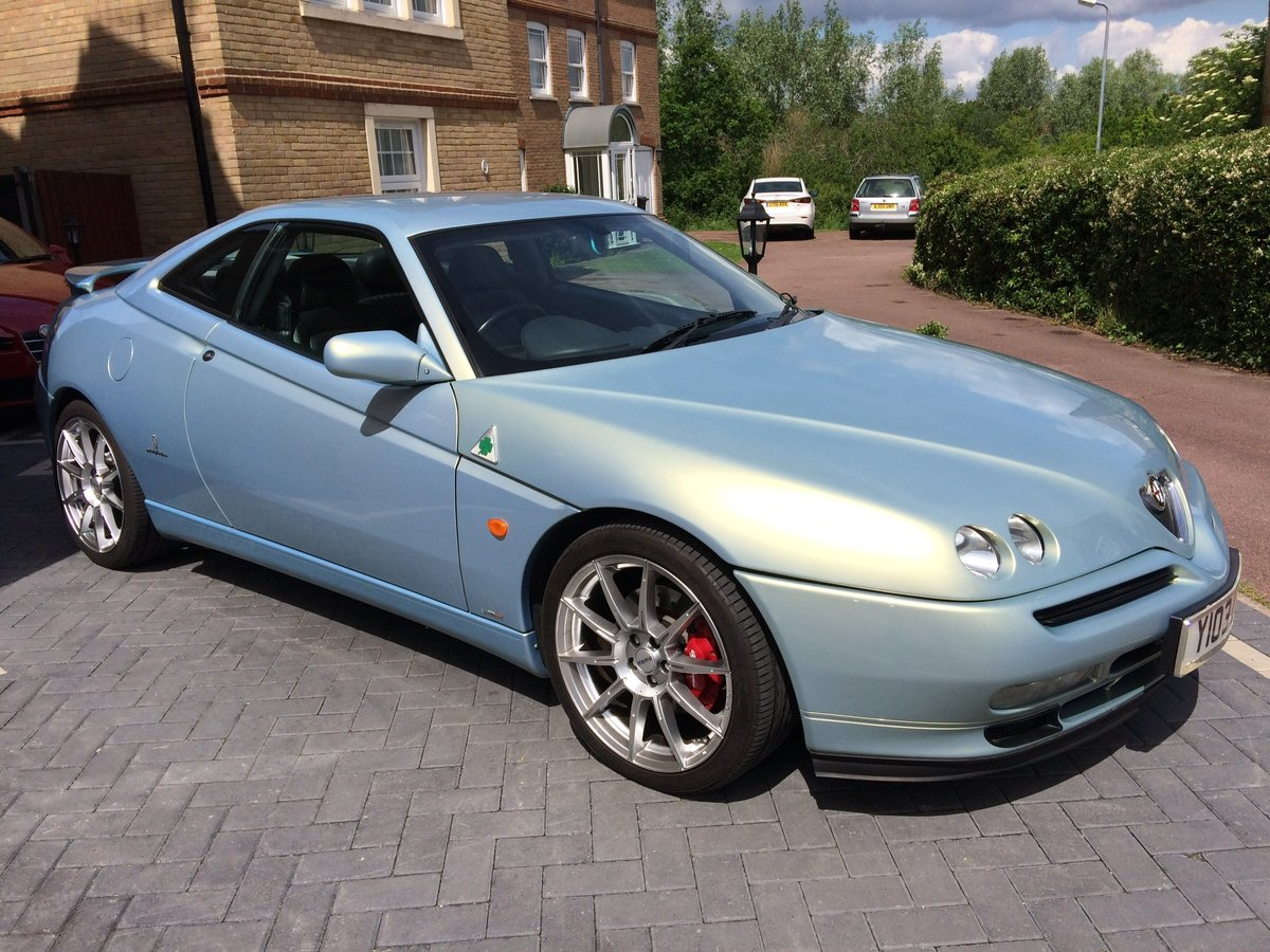 2001 Alfa Romeo GTV Very rare novella pearl blue V6 SOLD (picture 1 of 6)