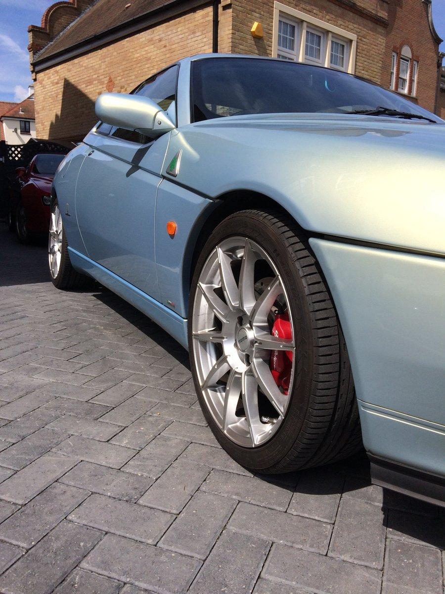 2001 Alfa Romeo GTV Very rare novella pearl blue V6 SOLD (picture 2 of 6)