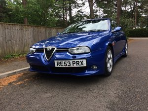 2003 Alfa Romeo 156 3.2 V6 GTA Sportwagon For Sale by Auction