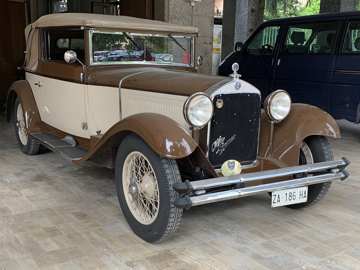 1930 Alfa Romeo 6C 1750 GT Drophead by Gangloff For Sale (picture 1 of 6)