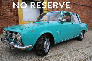 1969 Alfa Romeo Berlina 1750 - 62,000 Miles - On The Market  For Sale by Auction