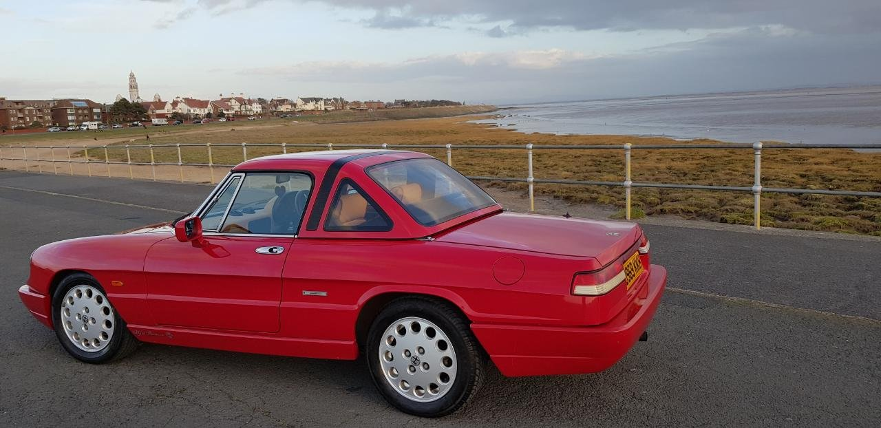 1992 Fantastic Alfa Spider S4 RHD For Sale (picture 3 of 6)