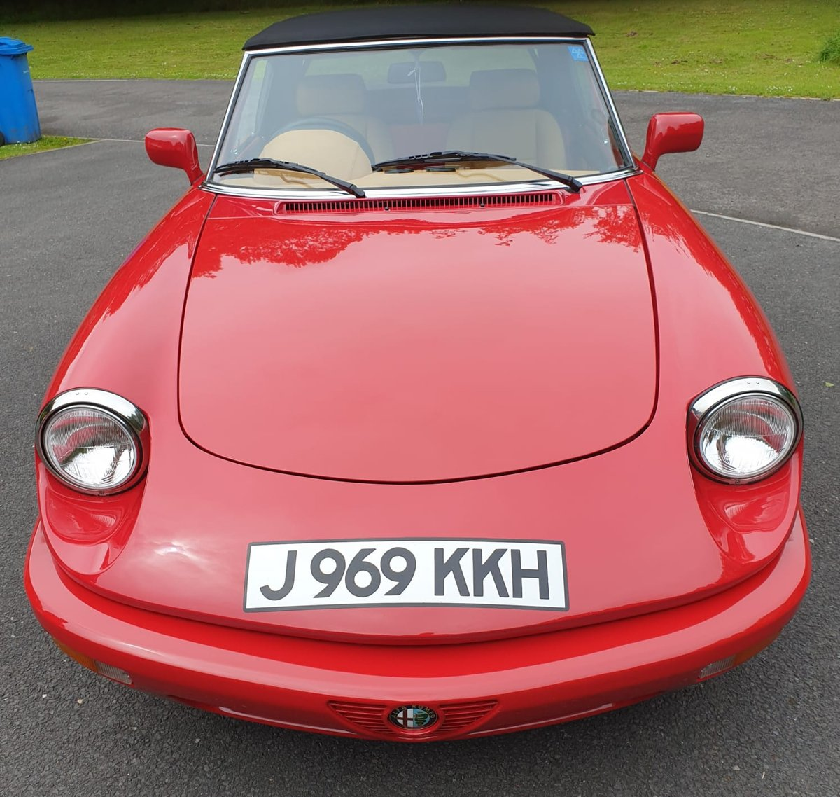 1992 Fantastic Alfa Spider S4 RHD For Sale (picture 6 of 6)