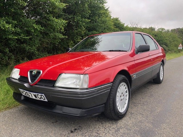 1990 Alfa romeo 164 2.0 16v twinspark manual only 81000 For Sale (picture 1 of 6)