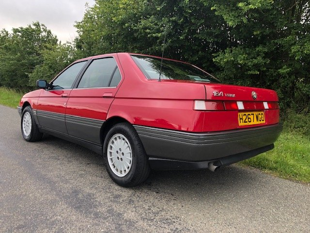 1990 Alfa romeo 164 2.0 16v twinspark manual only 81000 For Sale (picture 3 of 6)