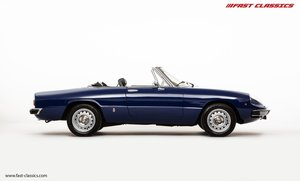 1981 ALFA ROMEO SPIDER / DEEP BLUE / BLACK INTERIOR / KAMM TAIL For Sale