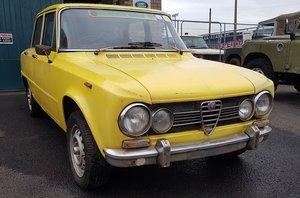 1973 Alfa Romeo 105 Super Giulia 1300 for restoration For Sale