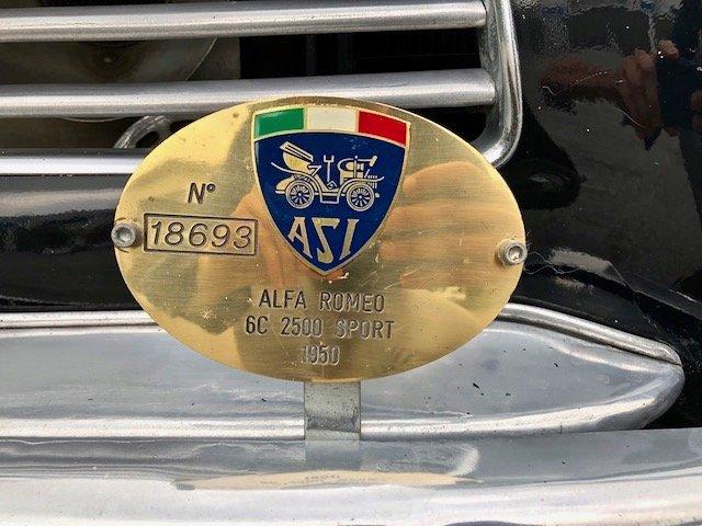 1950 ALFA ROMEO - 6C 2500 Sport Berlina Pinin Farina RHD For Sale (picture 4 of 6)