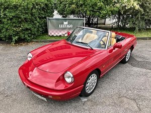 1992 Alfa Romeo - Spider 2.0i S4 - Only one owner For Sale