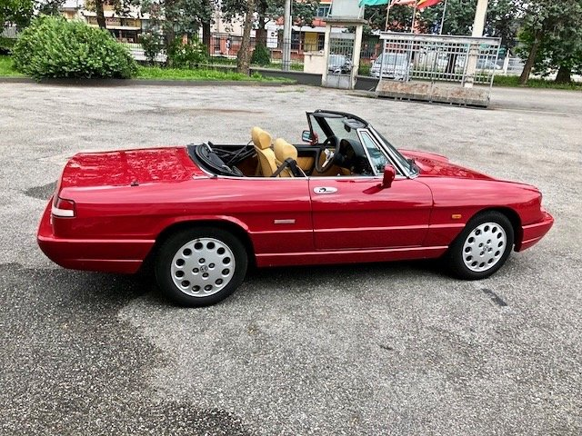 1992 Alfa Romeo - Spider 2.0i S4 - Only one owner For Sale (picture 3 of 6)